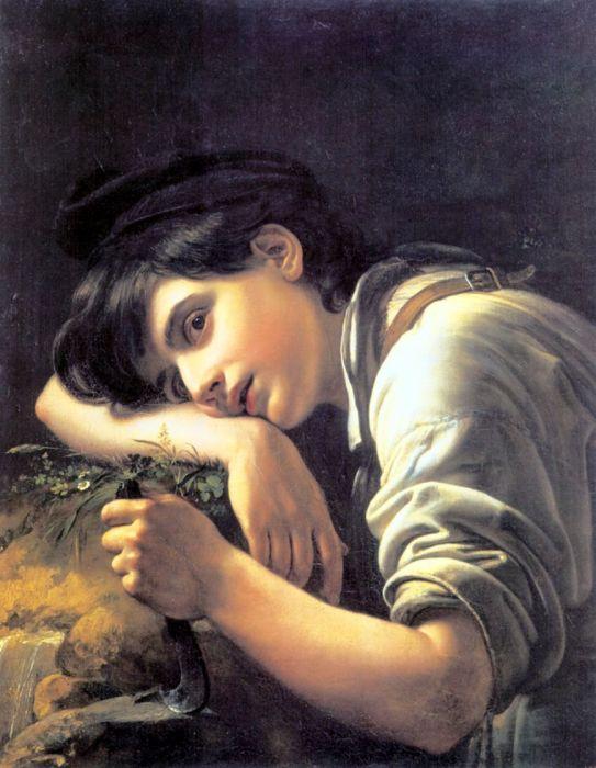 Орест Кипренский. «Молодой садовник». / Фото: www.artchive.ru