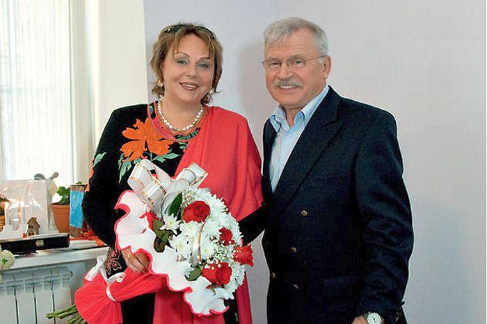 Сергей Никоненко и Екатерина Воронина. / Фото: www.7days.ru