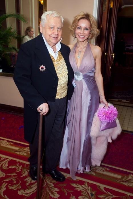 Олег Табаков и Марина Зудина. / Фото: www.woman.ru