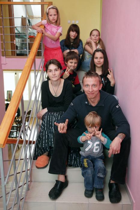 Охлобыстины с детьми. / Фото: www.woman.ru