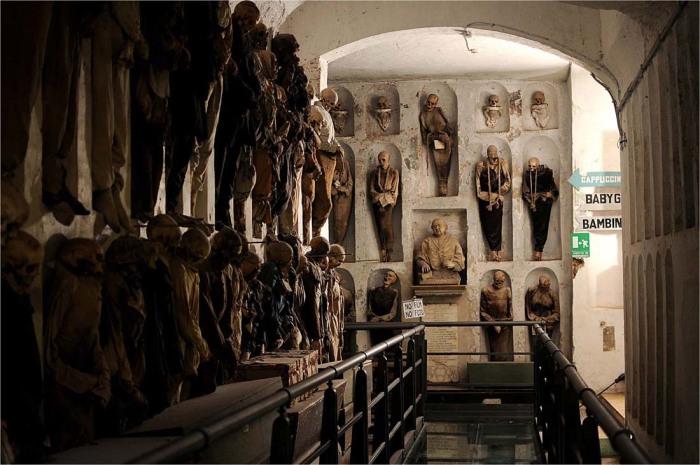 Capuchin Monastery Catacombs. / Фото: www.giulioazzarello.net