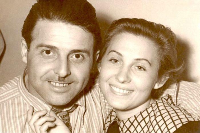 Михаил Танич и Лидия Козлова. / Фото: www.radiovera.ru