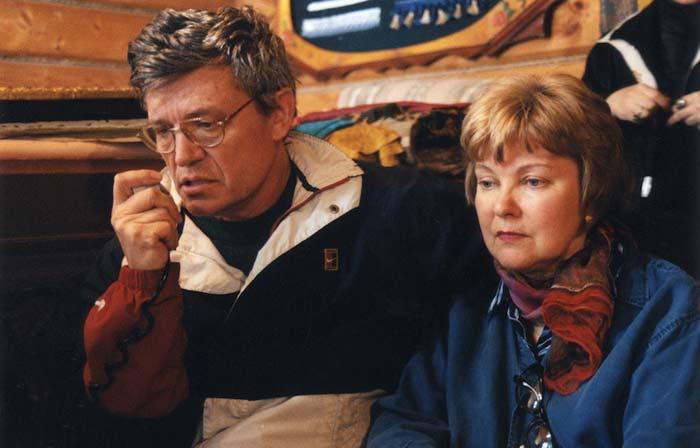 Борис Токарев и Людмила Гладунко. / Фото: www.stuki-druki.com