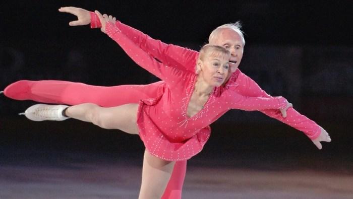Людмила Белоусова и Олег Протопопов. / Фото: www.dp.ru