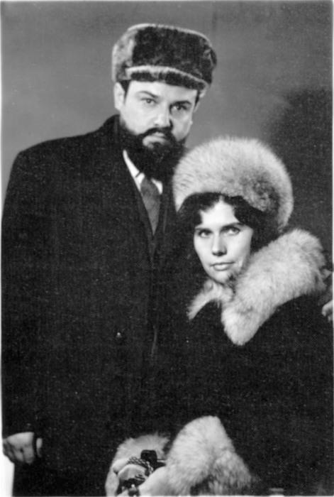 Протоиерей Александр Мень и матушка Наталия, 1970-е годы. / Фото: www.alexandrmen.ru