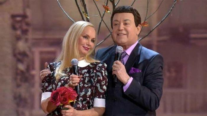 Иосиф и Нелли Кобзон. / Фото: www.1tv.ru