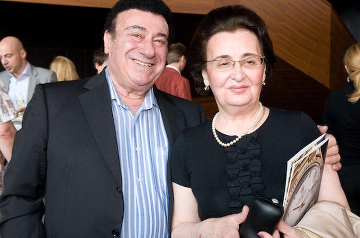 Зураб Соткилава и Элисо Турманидзе. / Фото: www.spletnik.ru