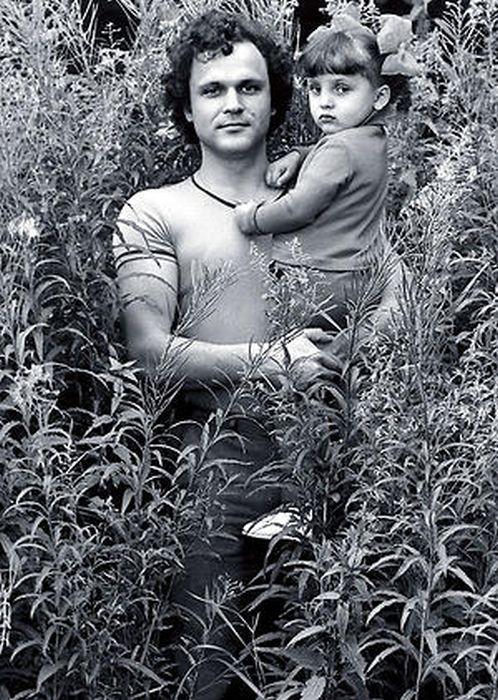 Николай Ерёменко с дочерью Ольгой. / Фото: www.7days.ru