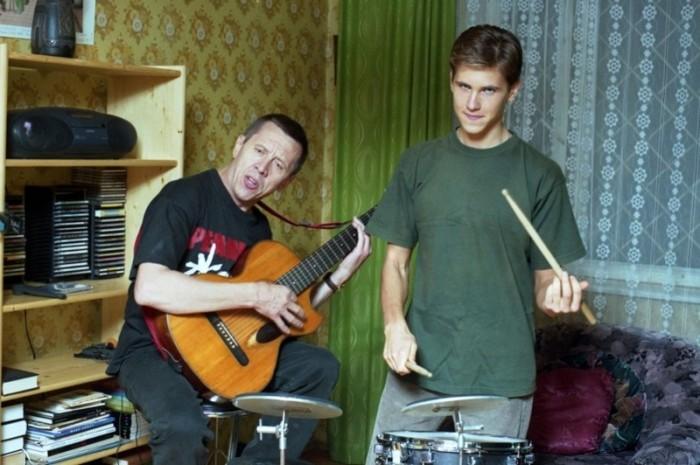 Валерий Золотухин с сыном Сергеем. / Фото: www.nevsedoma.com.ua