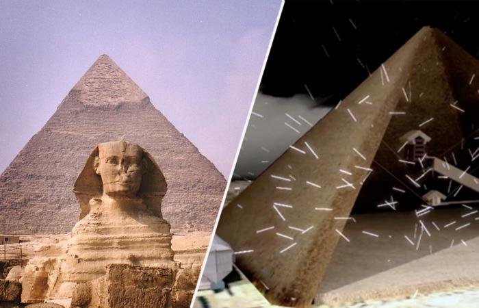 Пирамида Хеопса таит в себе ещё множество загадок.