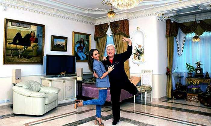 Владимир Винокур с дочерью. / Фото: www.psudoterad.ru