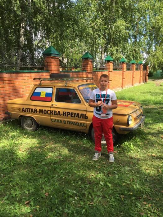 Даниил, сын Михаила Евдокимова. / Фото: www.veselointeresno.ru