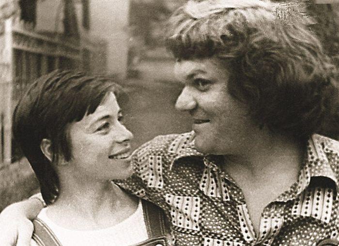 Юрий и Елена в юности. / Фото: www.7days.ru