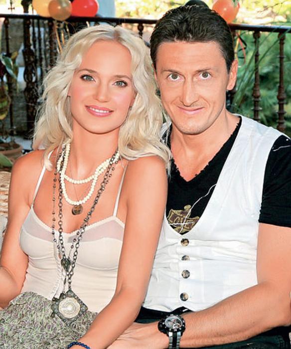 Глюк'oZa (Наталья Ионова) и Александр Чистяков. / Фото: www.woman.ru