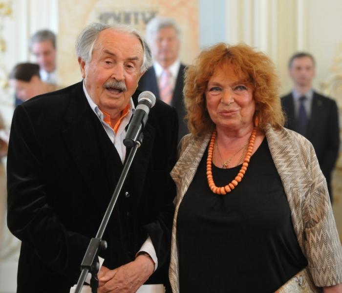 Тонино Гуэрра и Элеонора Яблочкина. / Фото: www.i.mr7.ru
