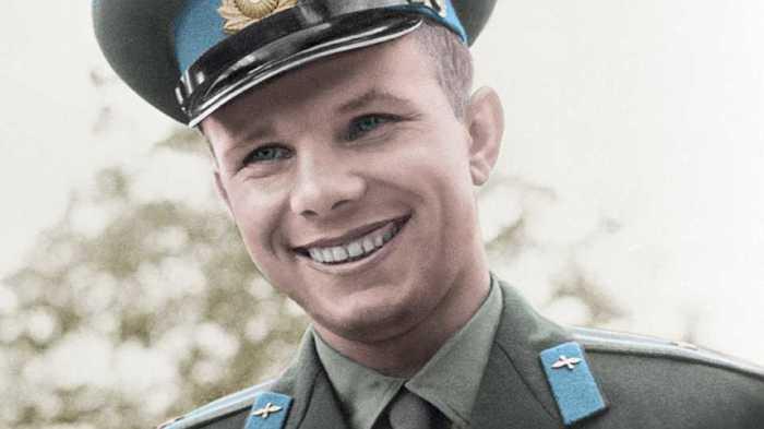 Юрий Гагарин. / Фото: www.worldpics.pro