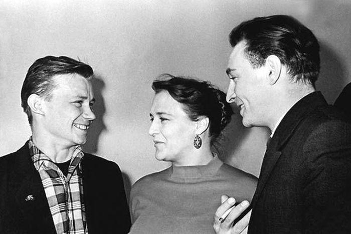 Нонна Мордюкова и Вячеслав Тихонов, 1960-е гг. / Фото: www.loveread.me