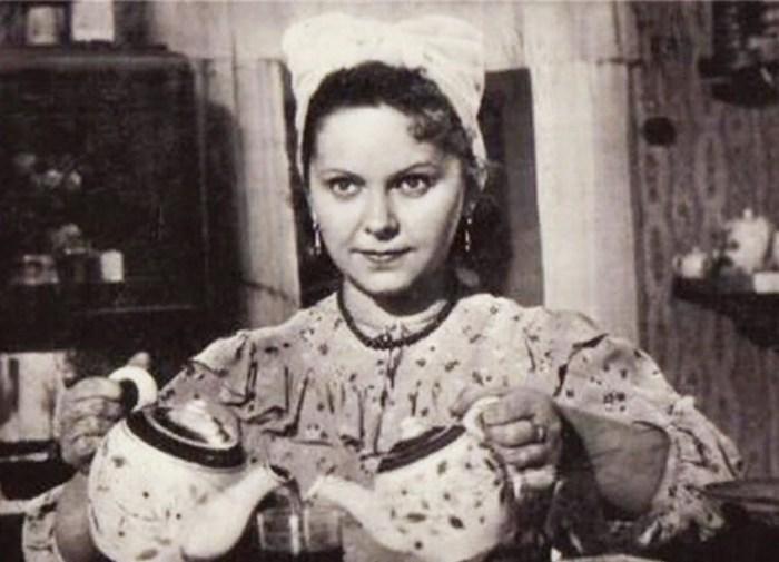 Вера Орлова, кадр из фильма «Солдат Иван Бровкин». / Фото: www.kino-teatr.ru