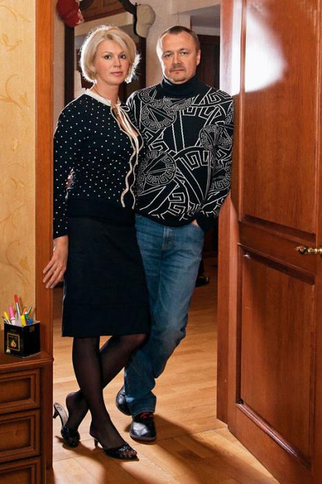 Владимир Шевельков с женой. / Фото: www.7days.ru