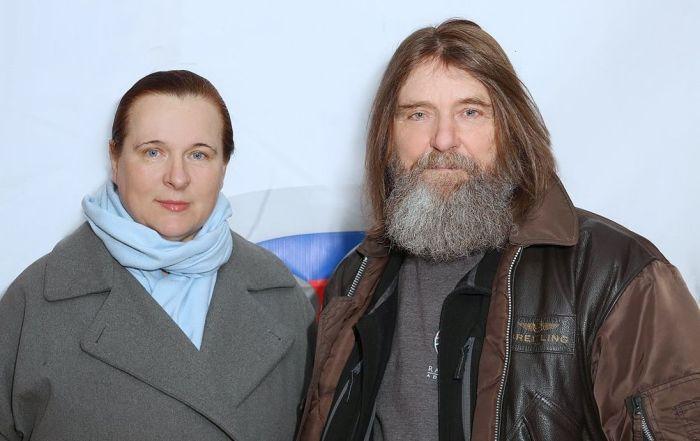 Фёдор и Ирина Конюховы. / Фото: www.facebook.com