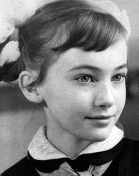 Светлана Дружинина в детстве. / Фото: www.newstut.ru