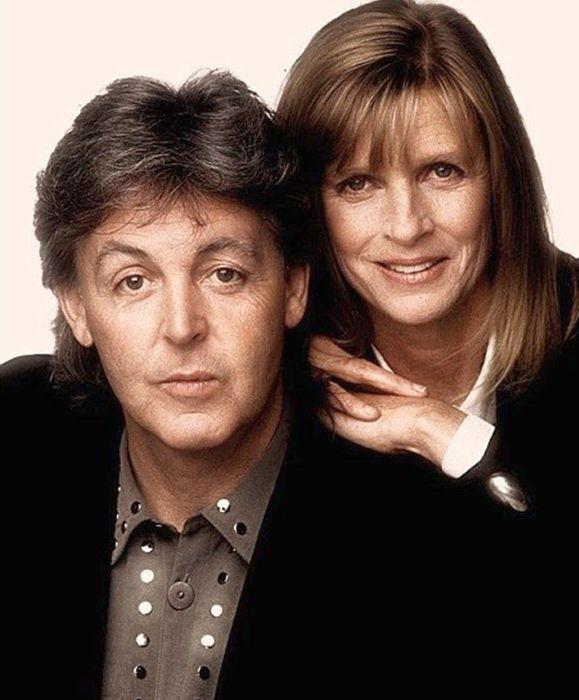 Пол и Линда Маккартни. / Фото: www.ytimg.com