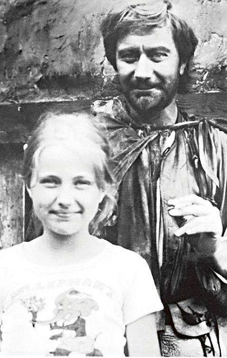 Андрей Миронов с дочерью Марией. / Фото: www.7days.ru