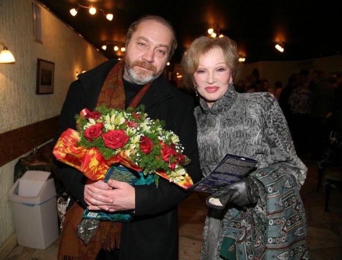 Людмила Гурченко и Сергей Сенин. / Фото: www.real-lifes.ru