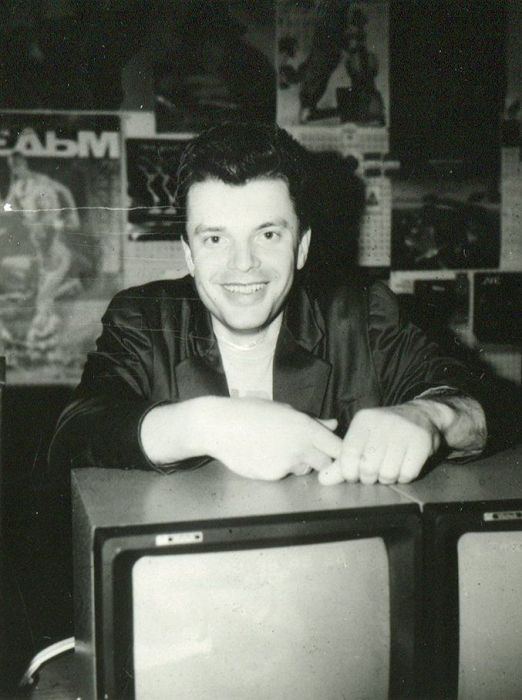 Леонид Парфёнов  в молодости. / Фото: www.marketium.ru