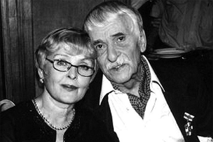 Ада Роговцева и Константин Степанков. / Фото: www.24smi.org