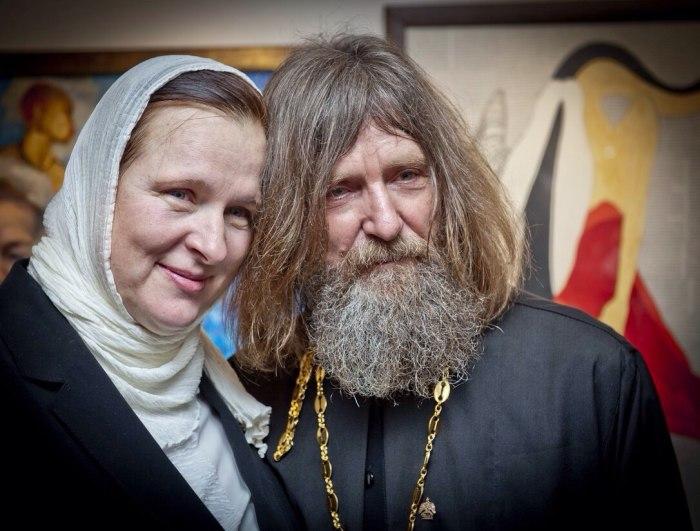 Фёдор Конюхов с женой матушкой Ириной. / Фото: www.logoslovo.ru