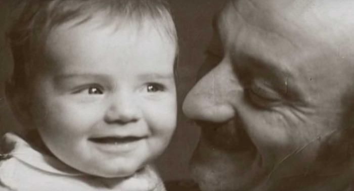Семен Фарада с сыном. / Фото: семейный архив