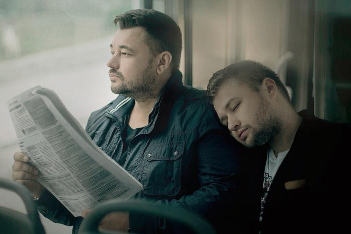 Сергей Жуков с братом Михаилом. / Фото: www.sobaka.ru