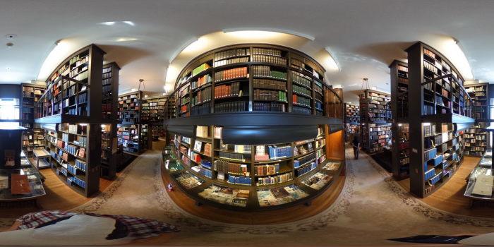 Библиотека храма. / Фото: www.atlasobscura.com