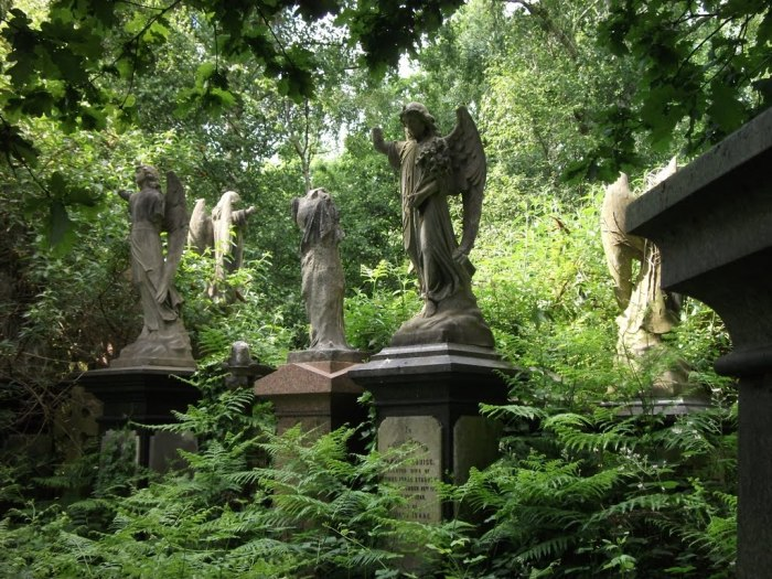 Кладбище Абни Парк. / Фото: www.jeremyworman.com