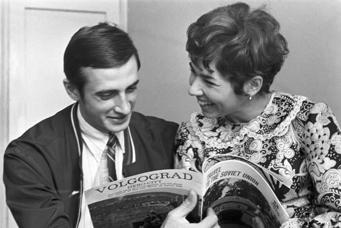 Людмила Пахомова и Александр Горшков. / Фото: www.woman.ru