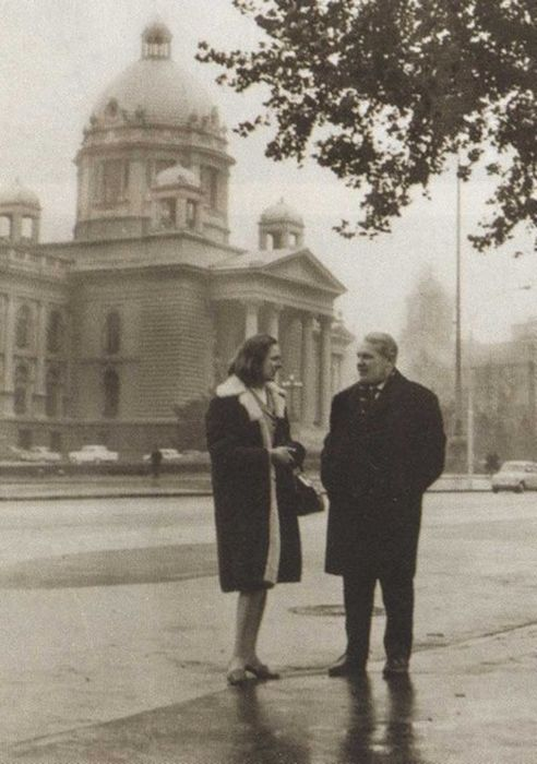 Марк Бернес с женой в Белграде, 1966 г. / Фото: www.fanread.ru