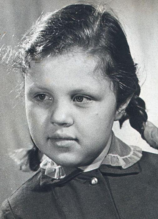 Марина Алексеева в детстве. / Фото: www.lichnosti.net