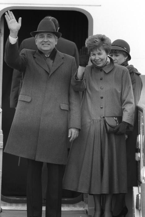 Раиса и Михаил Горбачёвы. / Фото: www.woman.ru