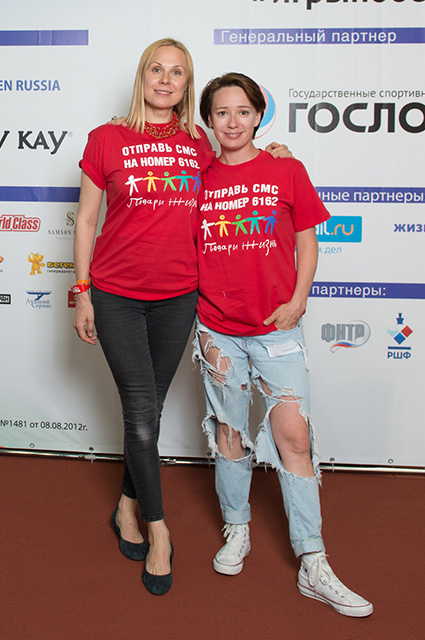 Чулпан Хаматова и Дина Корзун. / Фото: www.spletnik.ru