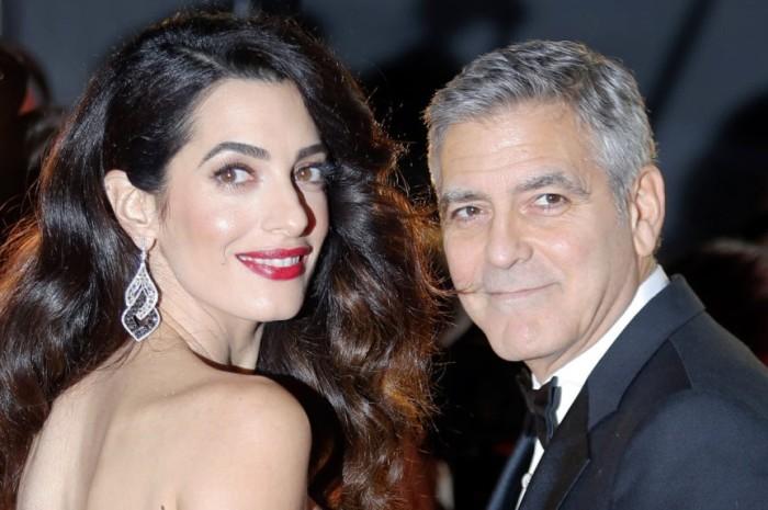 Джордж и Амаль Клуни. / Фото: www.breitbart.com