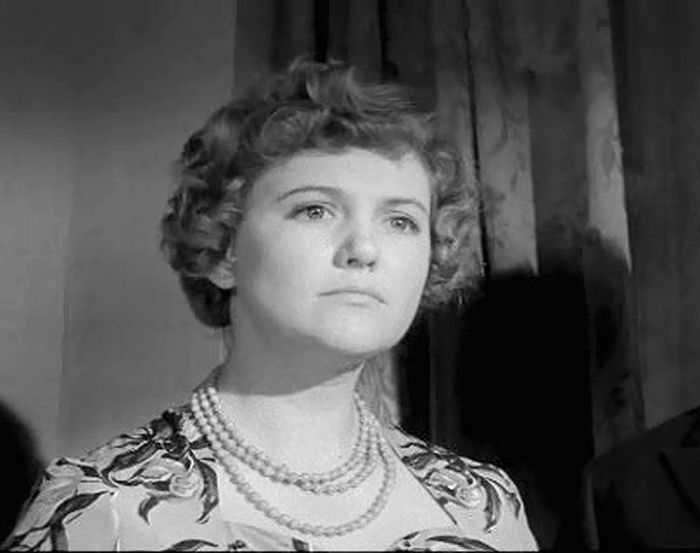 Элеонора Шашкова, кадр из фильма «Тишина». / Фото: www.kino-teatr.ru