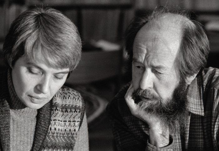 Александр Солженицын и Наталия Светлова. / Фото: www.ytimg.com