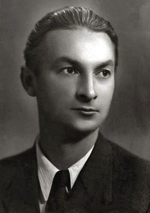 Георгий Вицин в молодости. / Фото: www.thematicnews.com