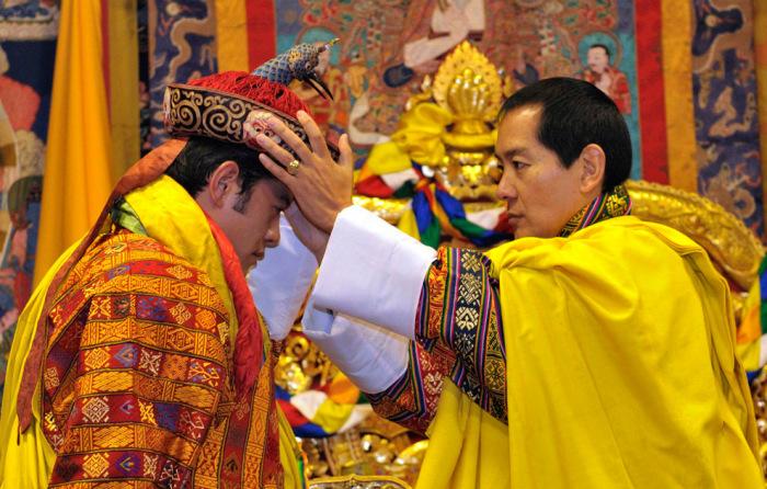 Коронация Джигме Кхесар Намгьел Вангчука. / Фото: www.bhutannewsnetwork.com