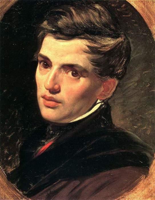 Карл Брюллов, «Портрет Александра Брюллова», 1823-1827. / Фото: www.allpainters.ru