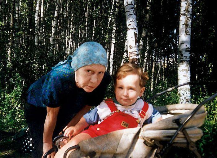 Елизавета Никищихина с внуком. / Фото: www.7days.ru