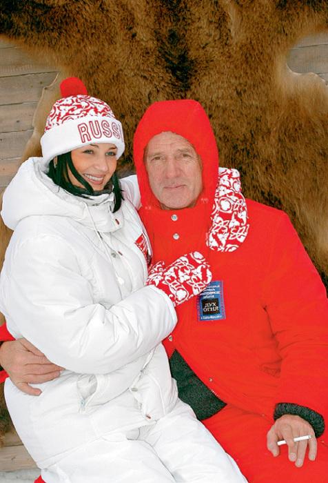 Александр Абдулов и Юлия Мешина. / Фото: www.eg.ru