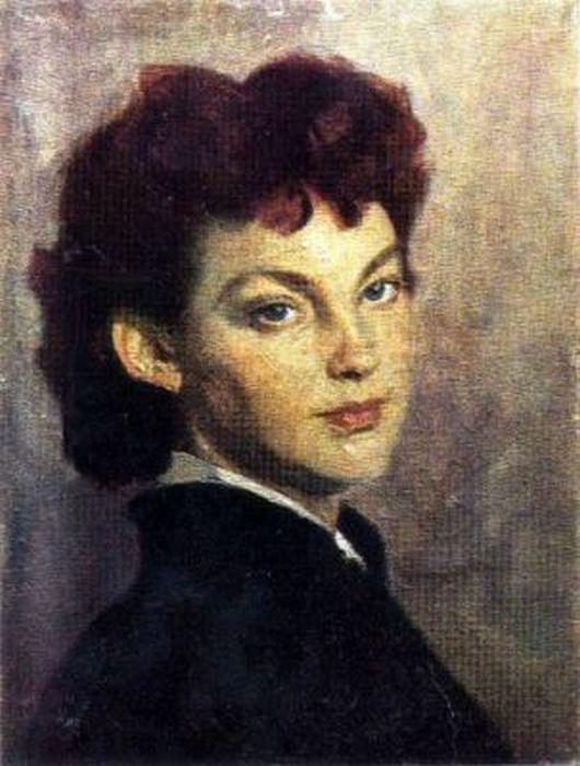 Портрет Ирины Скобцевой, художник Василий Ефанов. / Фото: www.art.ivanovoweb.ru