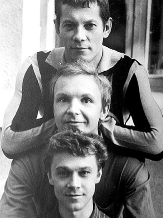 Михаил  Жигалов,  Андрей Мягков и Александр Леньков. / Фото: www.photoramium.com